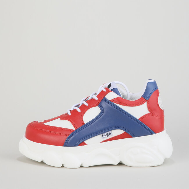 Colby - Red/Blue/White Imi Leather/Imi Suede/Textile