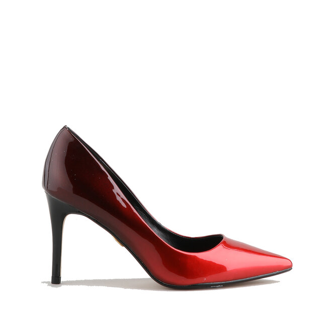 Fanny Red / Black Imi Patent