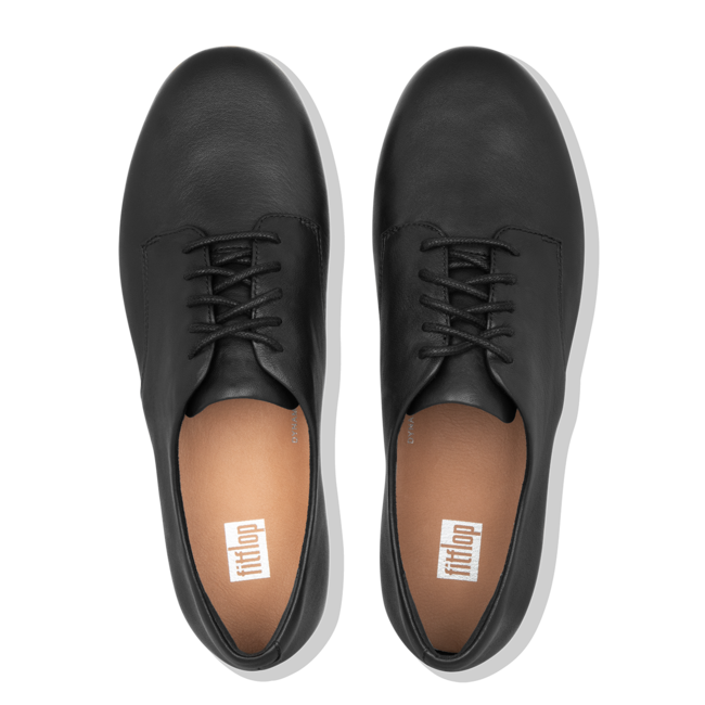 Adeola Lace-Up Derby's Leather