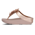Fino leaf Toe-Thongs Leather