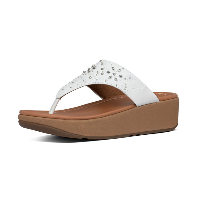 Myla Floral Stud Toe-Thongs PU