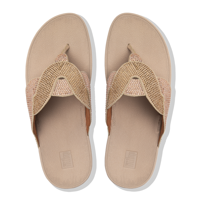 Paisley Rope Toe-Thongs Microfibre