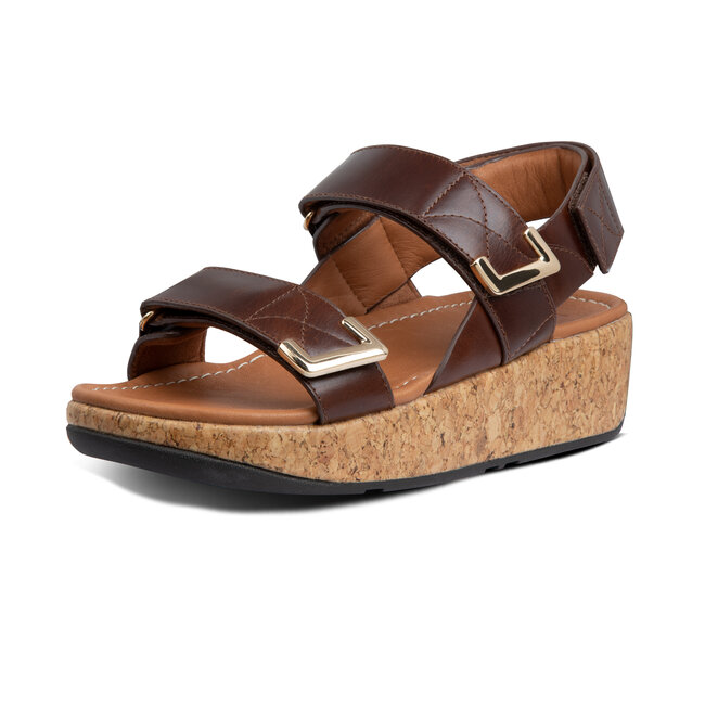 Remi Adjustable Back-Strap Sandals Leather