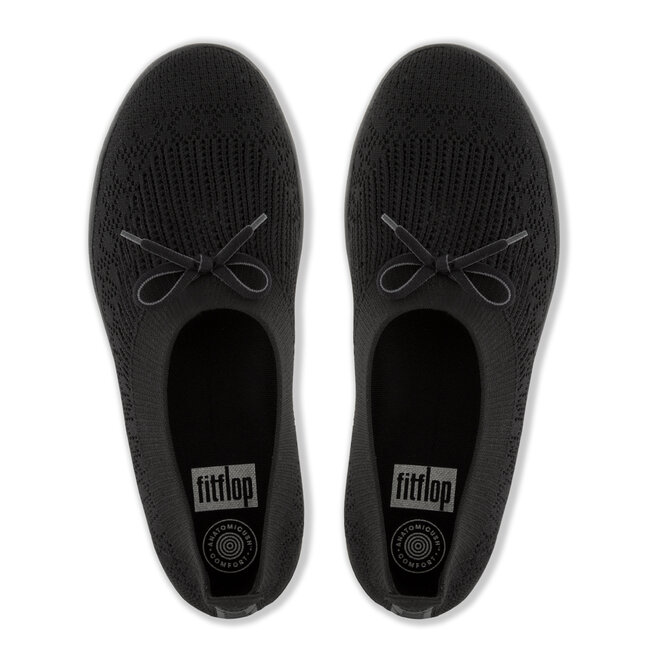 Uberknit Slip-On Ballerina With Bow Poly/nylon