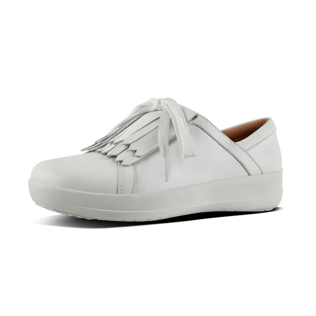 F-Sporty™ II Lace-Up Fringe Sneakers Leather