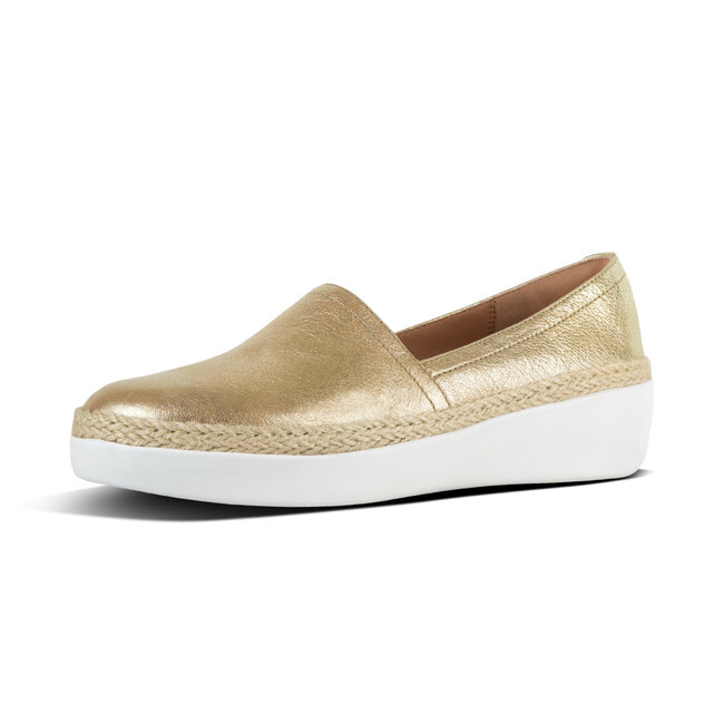 Casa™ Loafers Metallic Leather