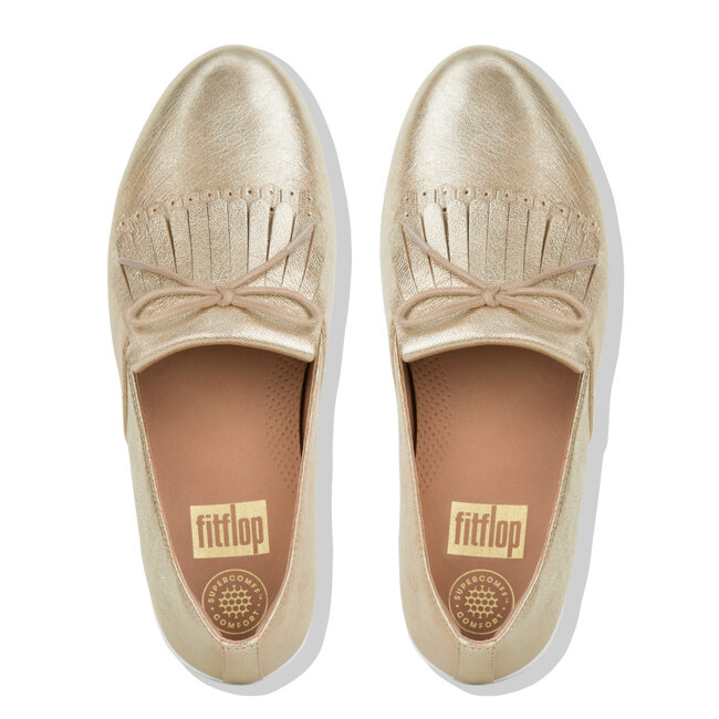 Superskate™ Fringe Metallic Leather