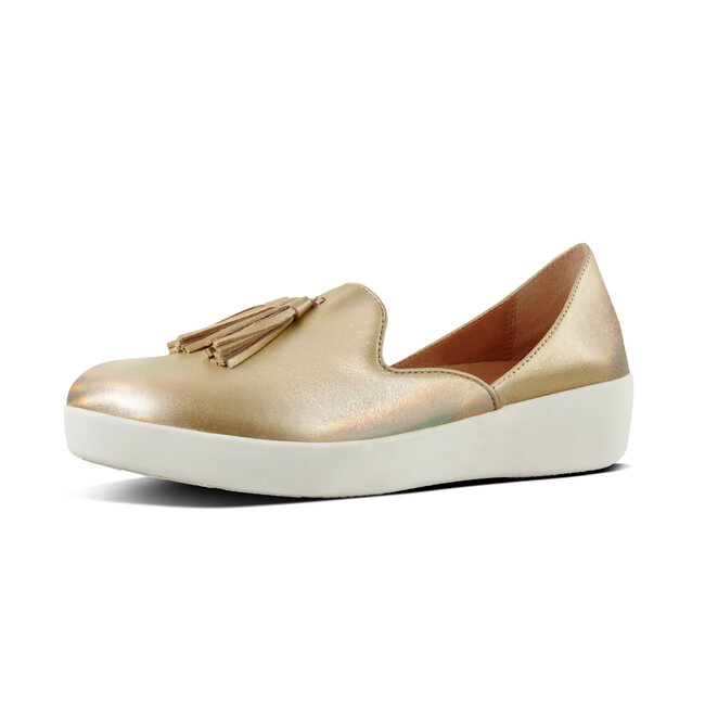 Tassel Superskate™ D'Orsay Loafers Iridescent Leather