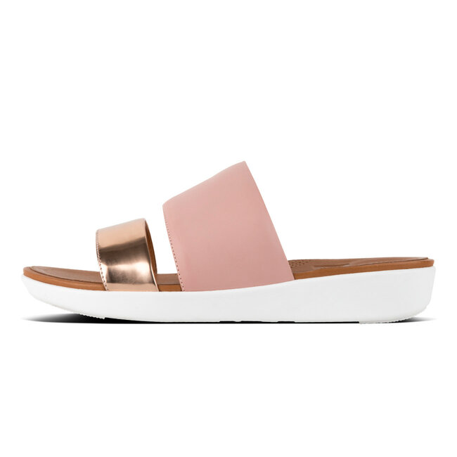 Delta™ Slide Sandals Leather / Mirror