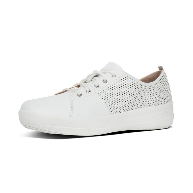 F Sporty™ Scoop-Cut Perf Sneakers Leather