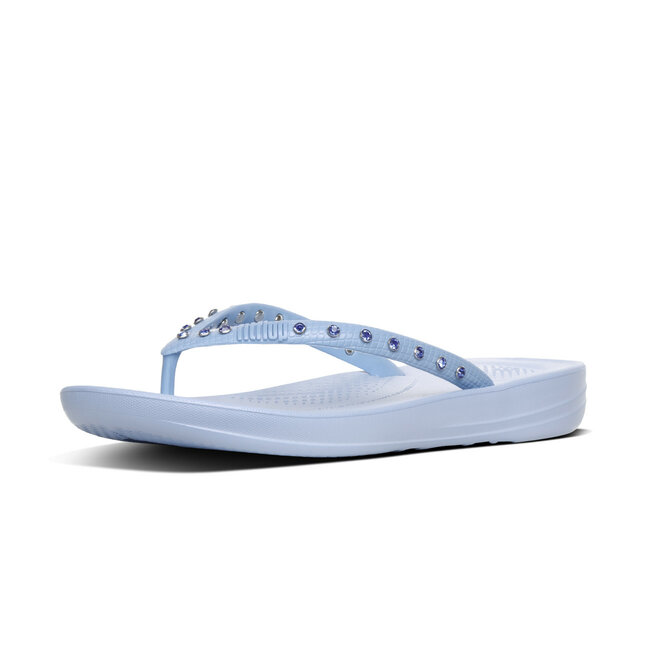 Iqushion™ Ergonomic Flip Flops Crystal