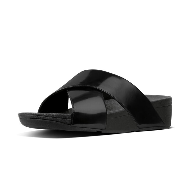 Lulu™ Cross Slide Sandals Mirror