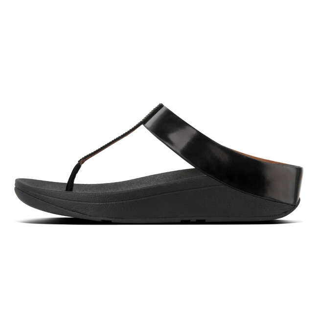 Fino™ Crystal Toe Thong Sandals