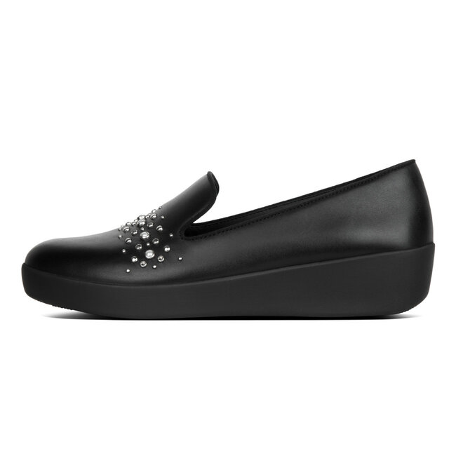 Audrey™ Pearl Stud Smoking Slippers
