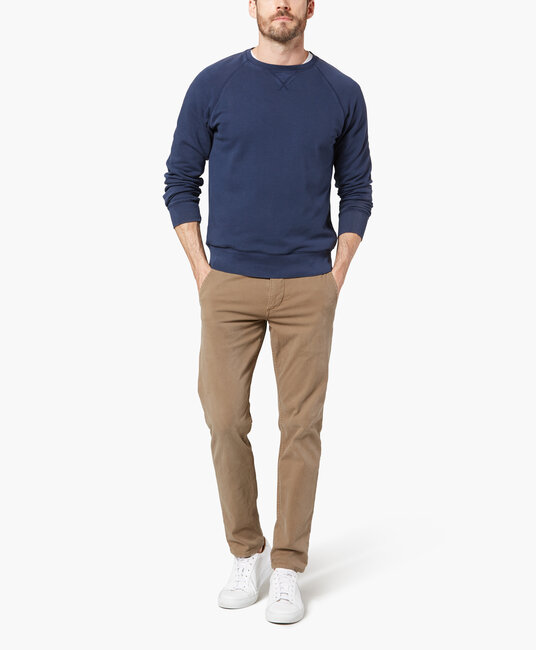 Alpha Khaki New Tapered - Mason Wash