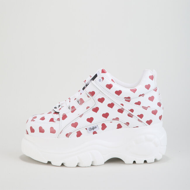 1339-14 2.0 - White / Red Hearts Nappa Leather